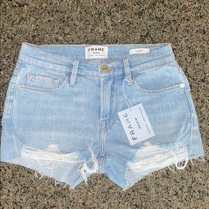 Frame Hurrah Cut Off Shorts